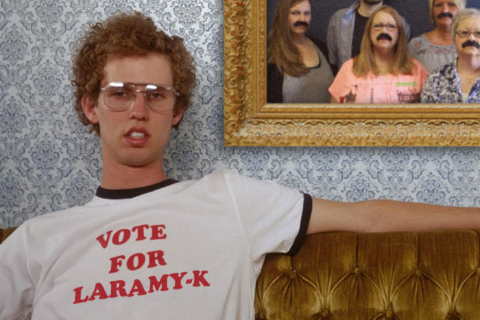 Napolean Says… Vote For Laramy-K